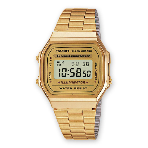 Montre Casio reference A168WG-9EF pour Homme Femme