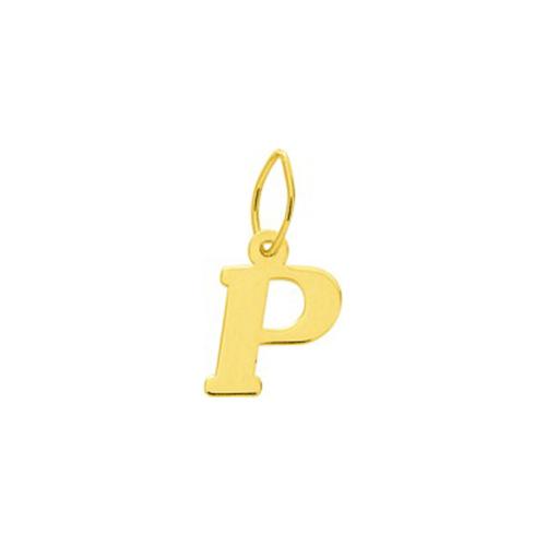 Prénom lettre P  en Or 750 / 1000 (18K)