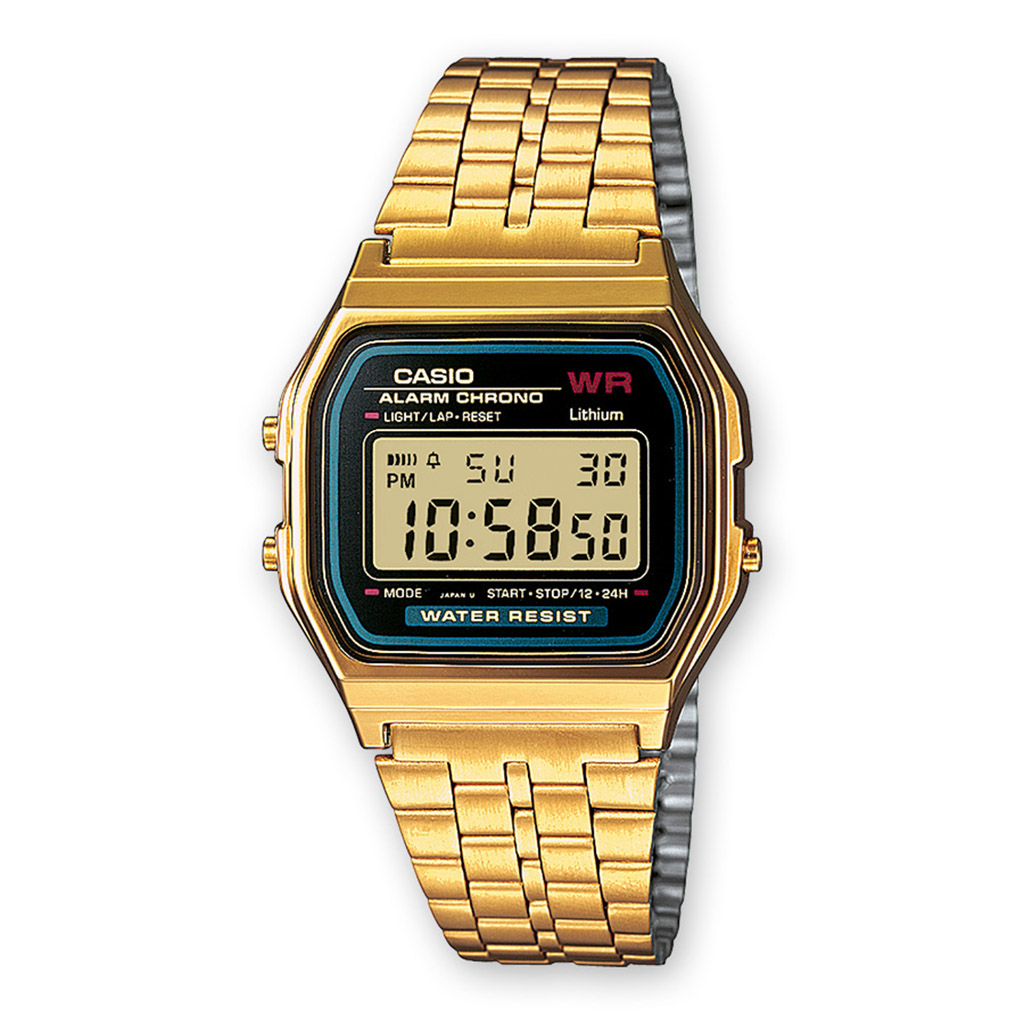 Montre Casio reference A159WGEA-1EF pour Homme Femme