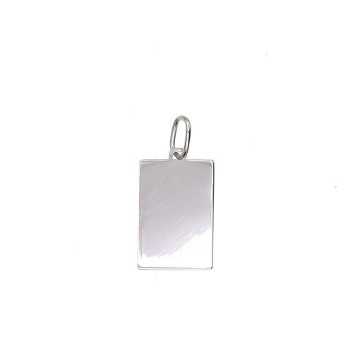 Plaque rectangulaire en Or 750 / 1000 (18K)