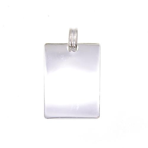 Plaque rectanglulaire en Argent 925 /1000