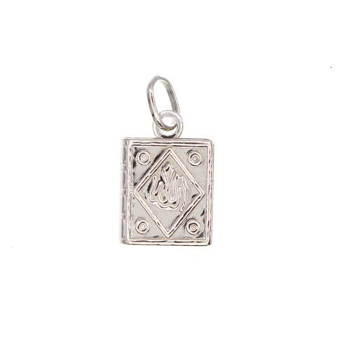 Pendentif religieux coran petit modele  en Argent 925 /1000