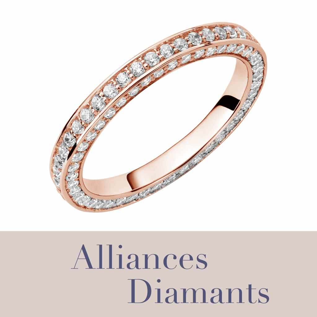 Alliances Diamants