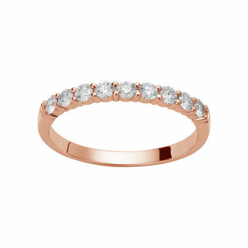 Alliance Diamants et or 18 Carats pour les mariages